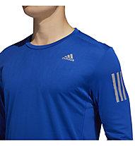 adidas Own The Run - maglia manica lunga running - uomo, Blue