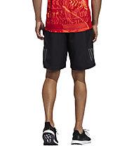 adidas Own The Run 2N1 - Runninghose - Herren, Black/Red