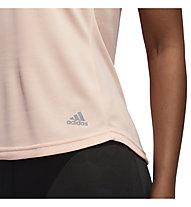adidas Own The Run - T-shirt running - donna, Rose