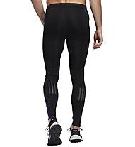 adidas Own The Run - pantaloni lunghi running - uomo, Black/Blue