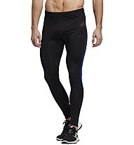 adidas Own The Run - pantaloni lunghi running - uomo, Black/Blue