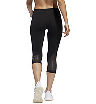 adidas Own The Run - Runninghose 3/4 - Damen, Black