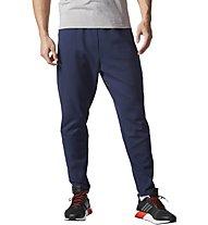 Adidas Technical - pantaloni lunghi fitness - uomo, Blue