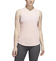 adidas Performance - top fitness - donna, Rose