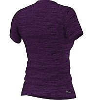 Adidas Performance Tee T-Shirt fitness donna, Violett