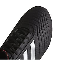 adidas Predator 18.3 FG - Fußballschuhe feste Böden, Black