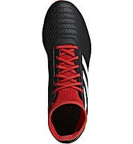 adidas Predator 18.3 FG - scarpe da calcio terreni compatti, Black/Red