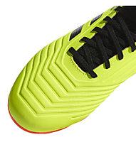 Adidas Predator 18.3 FG Junior - scarpe da calcio terreni compatti - bambino, Lime/Black/Red