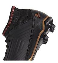Adidas Predator 18.3 FG Jr - scarpe da calcio terreni compatti - bambino, Black
