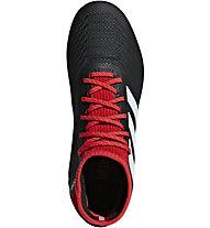 adidas Predator 18.3 FG Jr - scarpe da calcio terreni compatti - bambino, Black/Red