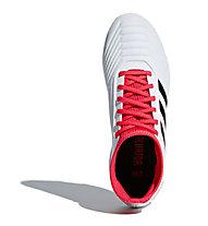 adidas Predator 18.3 FG Junior - Fußballschuh feste Böden - Kinder, White/Red