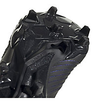 adidas Predator 19.1 FG - Fußballschuhe kompakte Rasenplätze, Black