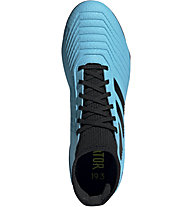 adidas Predator 19.3 FG - scarpe da calcio terreni compatti, Light Blue/Black