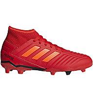 brand new 5c3de 90c59 adidas Predator 19.3 FG JR - scarpe da calcio terreni compatti - bambino,  Red