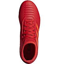 adidas Predator 19.3 FG JR - scarpe da calcio terreni compatti - bambino, Red