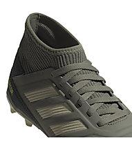 adidas Predator 19.3 FG JR - scarpe da calcio terreni compatti - bambino, Green/Yellow/Sand