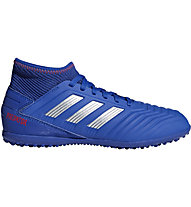adidas Predator 19.3 TF Junior - scarpe dacalcio terreni duri - bambino, Blue/Silver