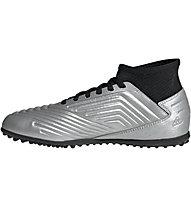 adidas Predator 19.3 TF Junior - scarpe da calcio terreni duri - bambino, Black/Silver