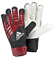 adidas Predator Junior - guanti da portiere, White/Red/Black