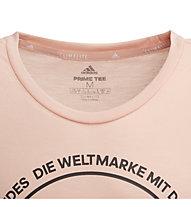 adidas Prime Tee - T-shirt fitness - bambina, Rose