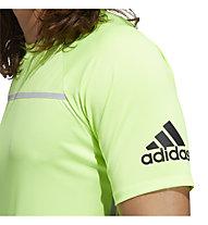 adidas Primeblue Tee - T-Shirt - Herren, Light Green