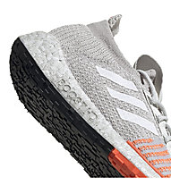 adidas PulseBOOST HD - Laufschuhe Neutral - Damen, Light Grey/Orange