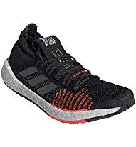 adidas PulseBOOST HD - scarpe natural running - uomo, Black/Orange