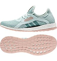 Adidas Pure Boost X Natural Running Laufschuh Damen, Ice Mint