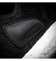 Adidas PureBOOST - Natural Running - Herren, Black/White