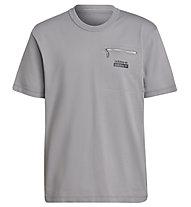 adidas R.Y.V. T Q3 - T-shirt - uomo , Grey