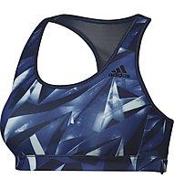 Adidas Rb Bra Print 2 - Sport-BH, Blue