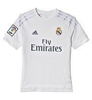 Adidas Maglia calcio Home Real Madrid Replica bambino 2016, White