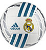 Adidas Real Madrid FBL - pallone da calcio, White/Grey/Blue