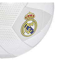 adidas Real Madrid FBL Ball - Fußball, White/Grey/Black