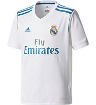 Adidas Real Madrid Home Replica 2017/2018  Junior Jersey - Fußballtikot - Kinder, White
