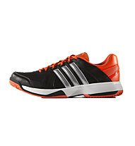 Adidas Scarpe da tennis Response Approach STR, Core Black / Silver Met/ Solar Red
