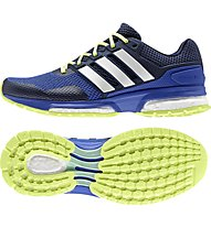 Adidas Response Boost 2.0 - Laufschuh Damen, Bold Blue/White