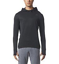 Adidas Response Climawarm - Laufshirt - Herren, Black