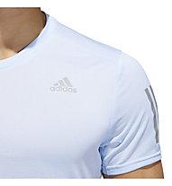 adidas Response Cooler - Laufshirt - Herren, Light Blue