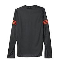 Adidas Response LS Tee M, Black/Bold Orange