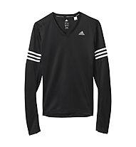 Adidas Response LS maglia manica lunga donna, Black