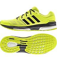 Adidas Revenge 2 M - Scarpe Running Stabili, Sun/Black