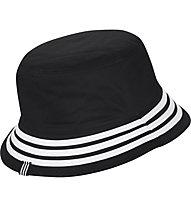 adidas Originals Reversible Velvet Bucket - cappellino, Black/White