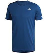 adidas Run Tee - Laufshirt - Herren, Blue