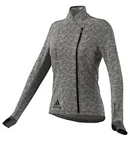 Adidas Sequencials CH Wrap W modische Laufjacke für Damen, Grey