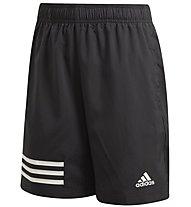 Bambino Adidas 3 Stripes Pantaloni Corti Fitness RXXfZrqw