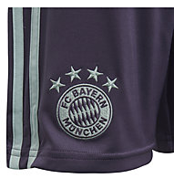 adidas Short Away FC Bayern Young - Fußballshorts - Kinder, Dark Violet