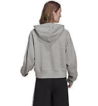 adidas Originals Short Hoodie - Kapuzenpullover - Damen , Grey