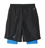 Adidas Short Messi Quarter Pantaloni corti calcio bambino, Black