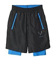 Adidas YB Messi Quarter Shorts - Jungen, Black